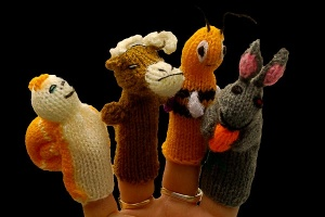 Finger Puppets - Wildlife Collection