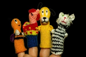 Finger Puppets - Friends Collection