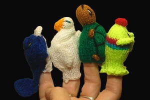 Finger Puppets - Galapagos Collection 2