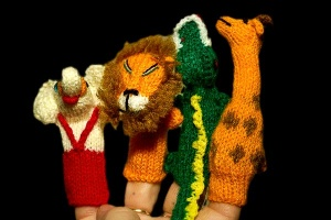 Finger Puppets - Jungle Collection B