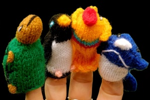 Finger Puppets - Galapagos Collection