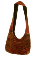 Small Ethnic ripped bag