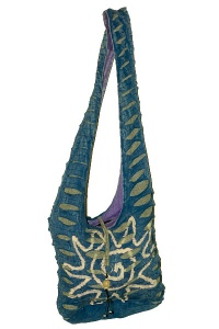 Ethnic Ripped shoulder bag