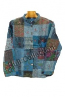 patchwork lightweight jackets