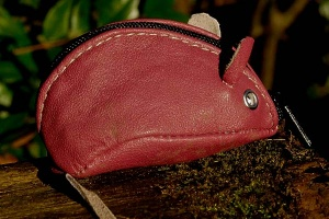Mouse Purse Pink