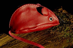 Red Mouse Purse