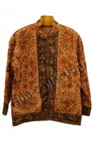 Quilted Elephant Jacket Brown