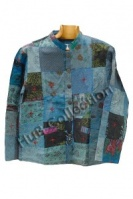 Patchwork lightweight elephant jacket S/M