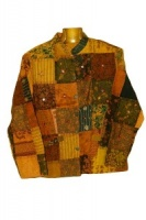 Patchwork elephant jacket S/M
