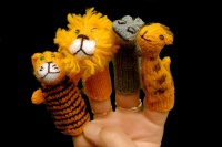 Finger Puppets - Jungle Collection