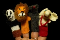 Finger Puppets - Friends Collection B