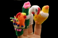 Finger Puppets - Bird World Collection