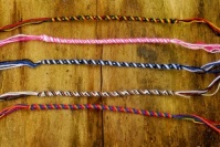 Rolled Friendship Bracelets