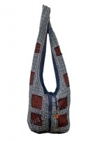 Blue Ethnic Shoulder Bag