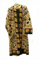 Elephant Jackets (print design) Housecoat - Small/Medium