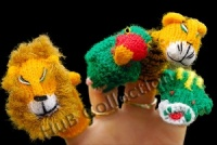 Finger Puppets - Jungle Collection C